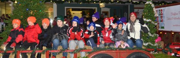 "The ""boys'"" side of the float!"