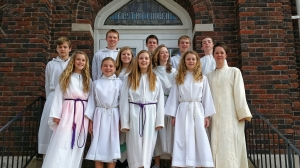 Confirmation Class of 2015